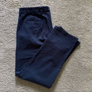Old Navy Blue Straight Chino